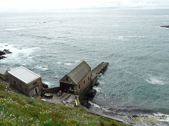 Lizard Point life boat stations