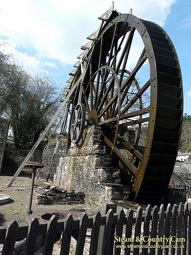 The large waterwheel