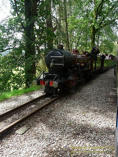 The Eskdale to Ravnglass Railway