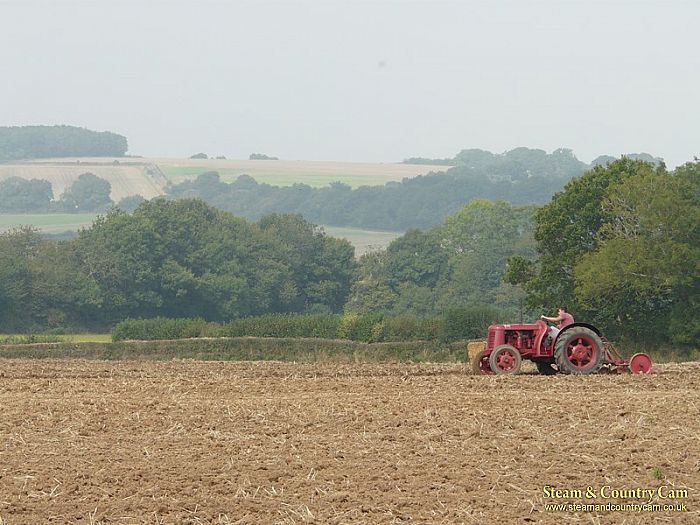 Tractor and the view